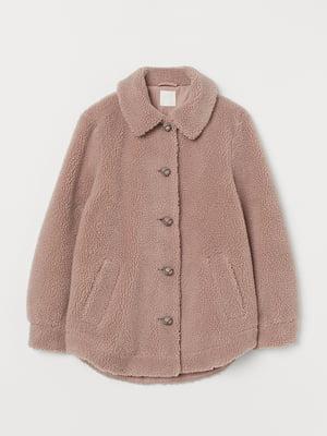 Куртка пудрового кольору | 5542270