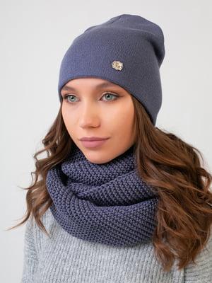 Комплект: шапка та шарф-снуд | 5547721