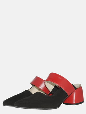 Сабо чорно-червоні | 5547615