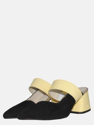 Сабо чорно-жовті | 5547618