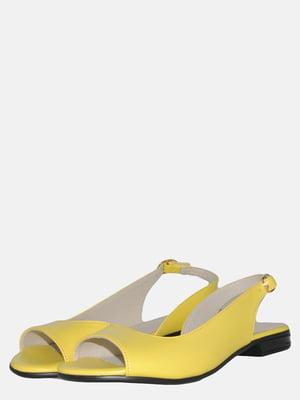 Босоножки желтые | 5547633