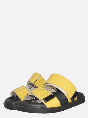 Шлепанцы желтые | 5547945