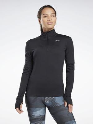 Джемпер спортивний чорний | 5547769