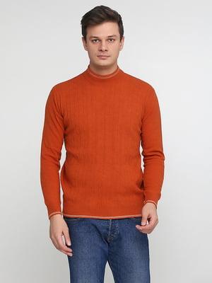 Джемпер терракотового цвета | 5548652