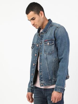 Куртка синя | 5548678