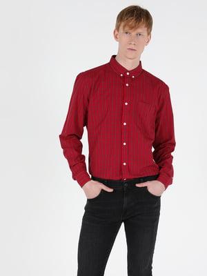 Сорочка червона в клітинку | 5548762