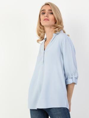 Рубашка голубая | 5548766