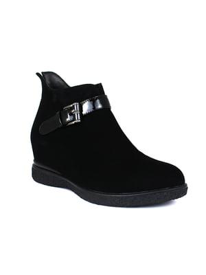 Ботинки черные   5550506