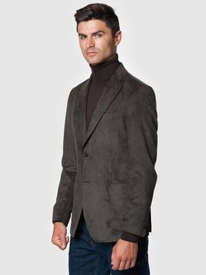 Піджак коричневий | 5550836