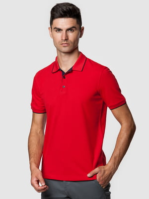 Футболка-поло червона | 5550844