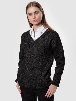 Пуловер чорний | 5550872
