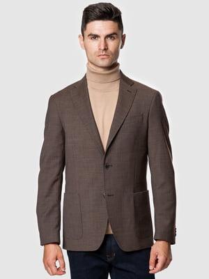 Пиджак коричневый | 5550895