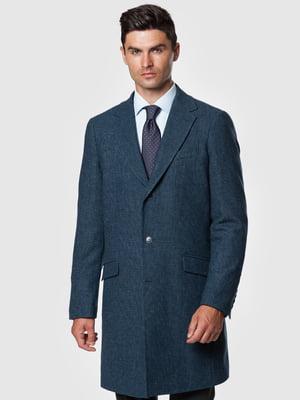 Пальто синє   5550901