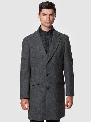 Пальто сіре   5550902