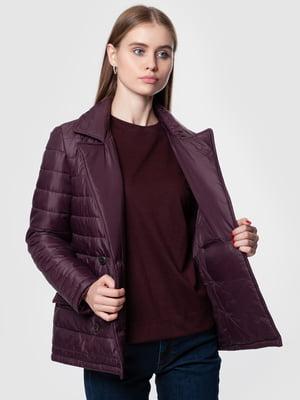 Куртка бордовая | 5550911