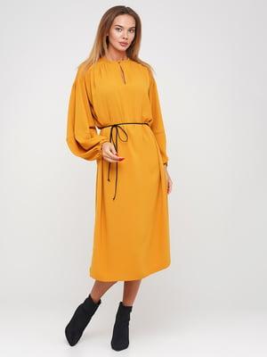 Платье желтое | 5550988