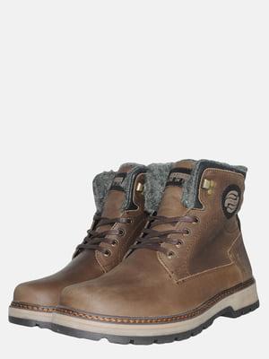 Черевики коричневі | 5546593