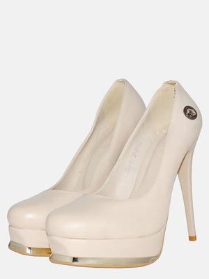 Туфлі бежеві | 5550706