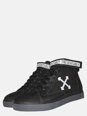 Ботинки черные | 5550827