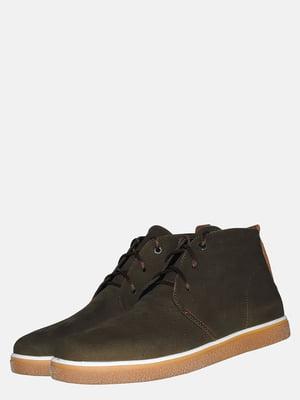 Ботинки цвета хаки | 5550831