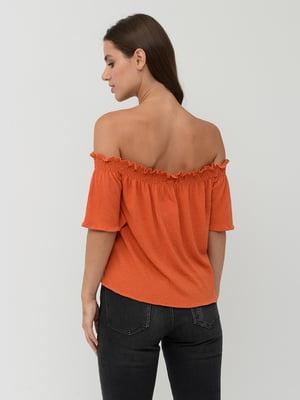 Топ оранжевый | 5551421