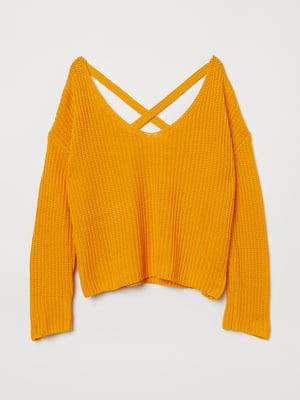 Джемпер жовтий | 5551787
