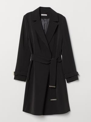 Пальто чорне | 5551858