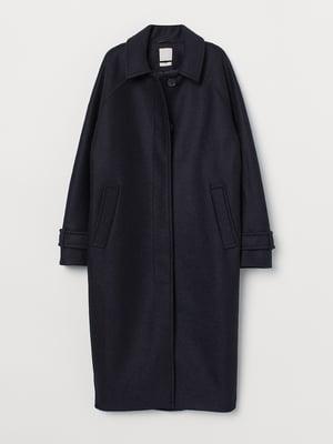 Пальто темно-синє | 5551938