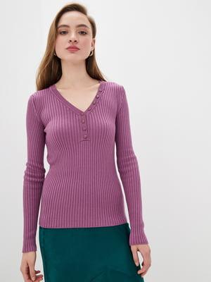 Пуловер бузковий | 5549105