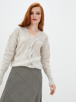 Пуловер бежевий | 5549106