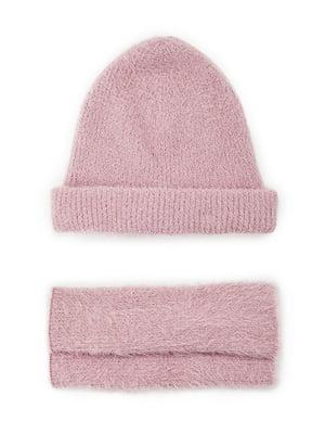Комплект: шапка и митенки | 5552585