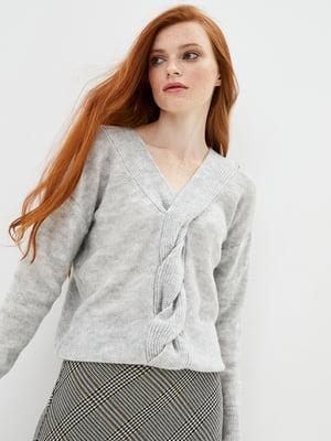 Пуловер серый | 5552605