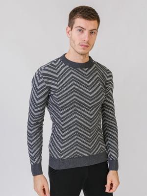 Джемпер темно-серый   5552845