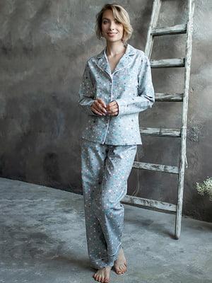Піжама: сорочка і штани | 5554093