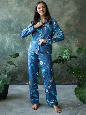Пижама: рубашка и брюки | 5554096