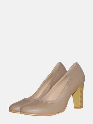 Туфлі бежеві | 5550718