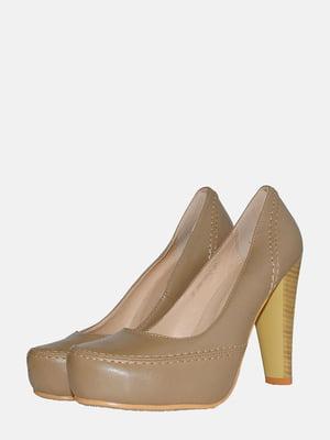 Туфли бежевые   5550719
