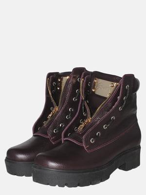 Ботинки сливового цвета | 5553442