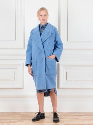 Пальто голубое | 5539281