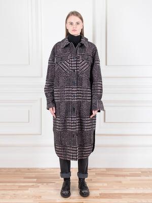 Пальто в «гусячу лапку» | 5550957