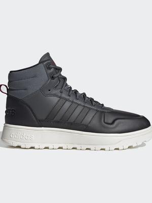 Ботинки серые   5553606