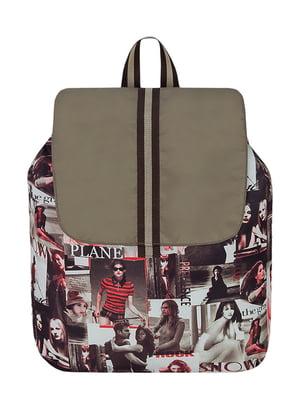 Рюкзак с принтом | 2854817