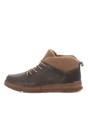 Ботинки темно-зеленые   5554193
