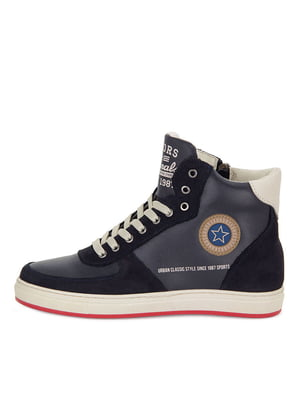 Ботинки темно-синие | 5554214