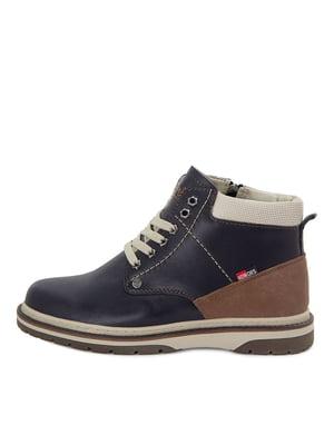 Ботинки темно-синие | 5554218