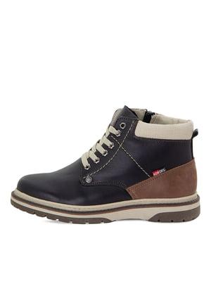 Ботинки черные | 5554223