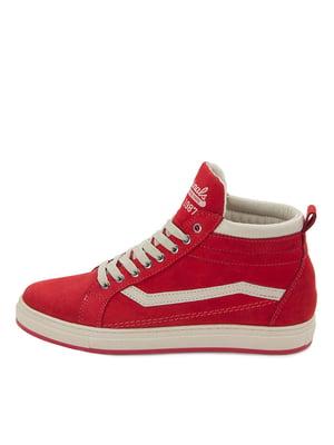 Ботинки красные | 5554229