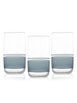 Набір склянок (365 мл; 3 шт)   5555155