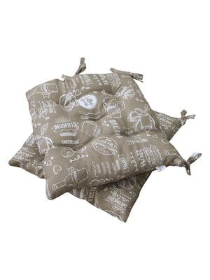 Подушка для стільця (40х40) | 5559402