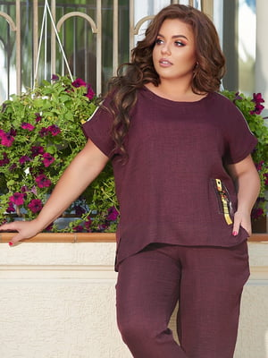 Костюм: блуза і штани | 5560510